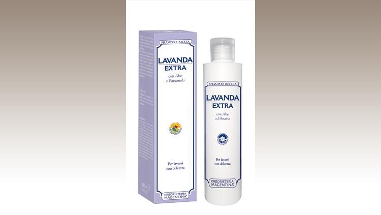 Con un mix di tensioattivi non aggressivi, deterge a fondo favorendo la rigenerazione cutanea e, sui capelli, stimola il cuoio capelluto, Erboristeria Magentina