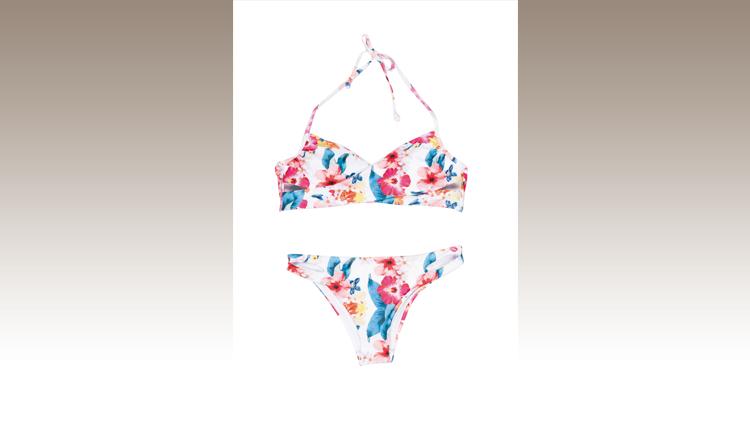 Bikini a fantasia floreale, Inside