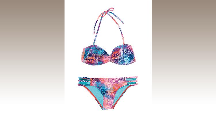 Bikini con fantasia etnica, Inside