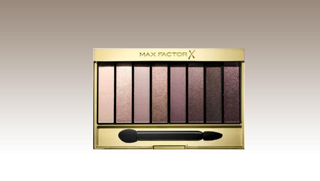 Masterpiece Nude Palette Rose con 8 shades di ombretti  ideali per realizzare look da giorno come da sera, Ma x Factor