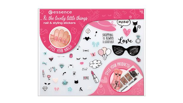 Decorazioni adesive per unghie, essence