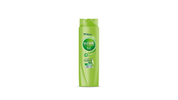Shampoo della linea Sciolti e Fluenti, Sunsilk