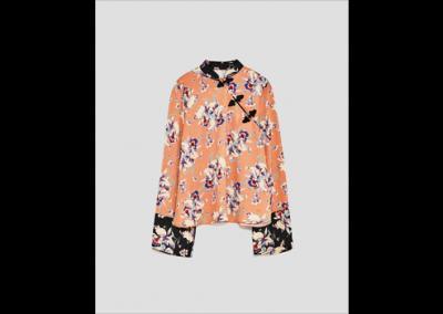 Casacca Orient style, Zara