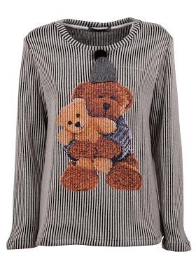 2.Maglietta con Teddy bear, Paquito