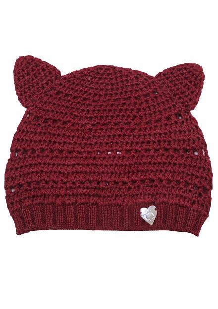 Cappello tricot con orecchiette, Princess Handle