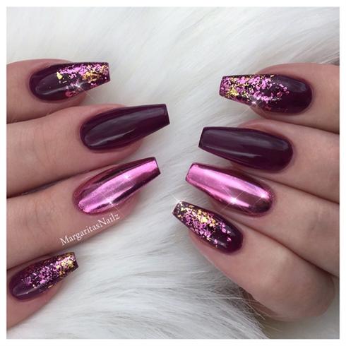 #1 Chrome nails
