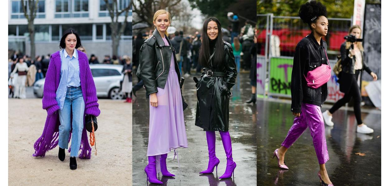10 outfit Ultra Violet da copiare