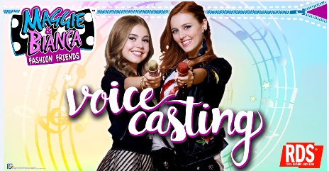 Maggie Bianca Fashion Friends Voice Casting Con Rds Top Girl