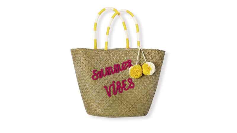Bag in paglia, Kiabi