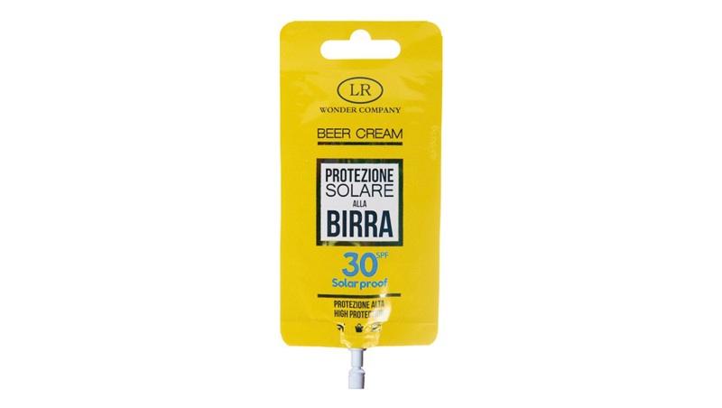 Bustina con Protezione solare 30, Beer Cream
