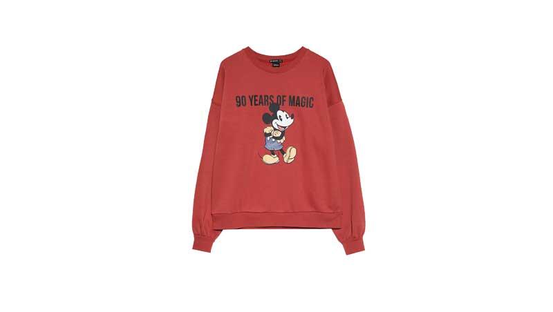 Felpa-rossa-collezione-Mickey90,-Stradivairus