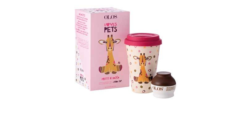 Cofanetto Olos Loves Pets con le creme best seller per idratare, opacizzare e lenire la pelle del viso, OLOS