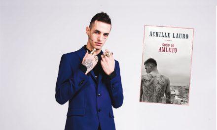"""Achille Lauro: uscito """"Sono Io Amleto"""", il suo primo libro"""