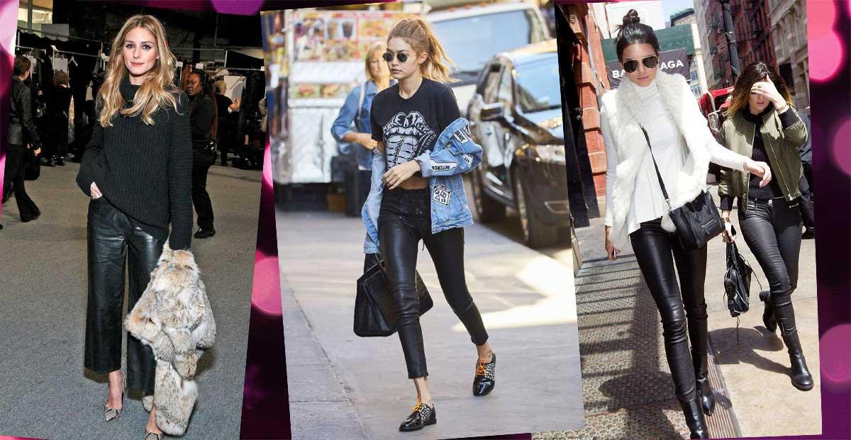Pantaloni di pelle: come abbinarli con stile