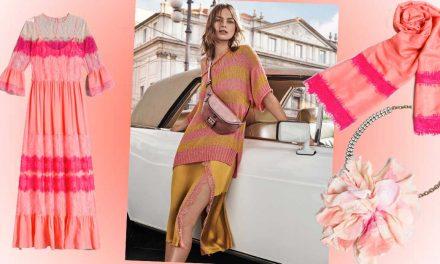 Outfit primavera 2019: il Living Coral è il colore perfetto per capi e accessori