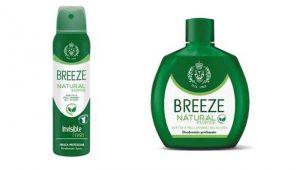 Deodoranti al thé verde, Breeze