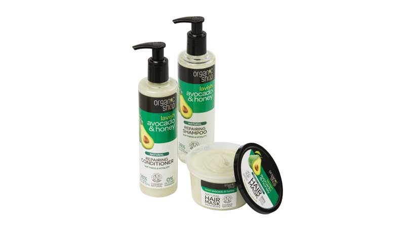 Shampoo+conditioner+mask, Organic Shop