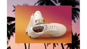 Sneakers, Puma capsule collection styled by Elodie