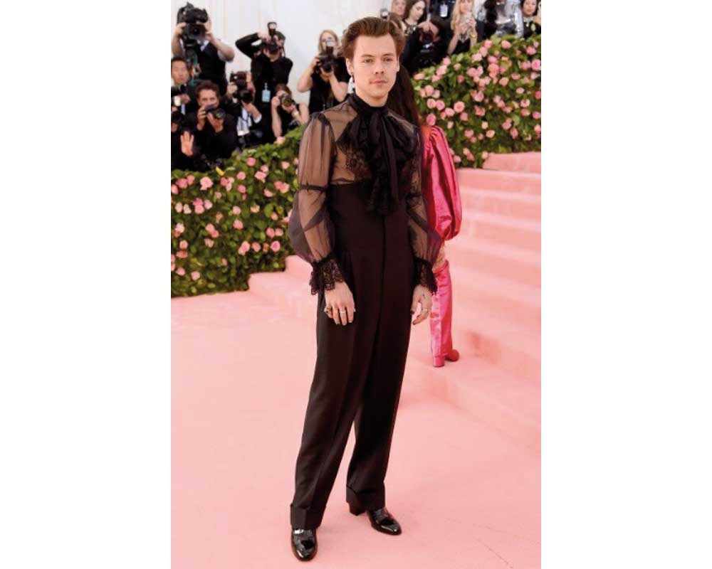 Harry Styles in Gucci