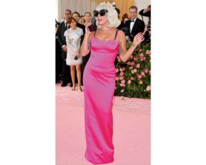 Lady Gaga in Brandon Maxwell terzo outfit