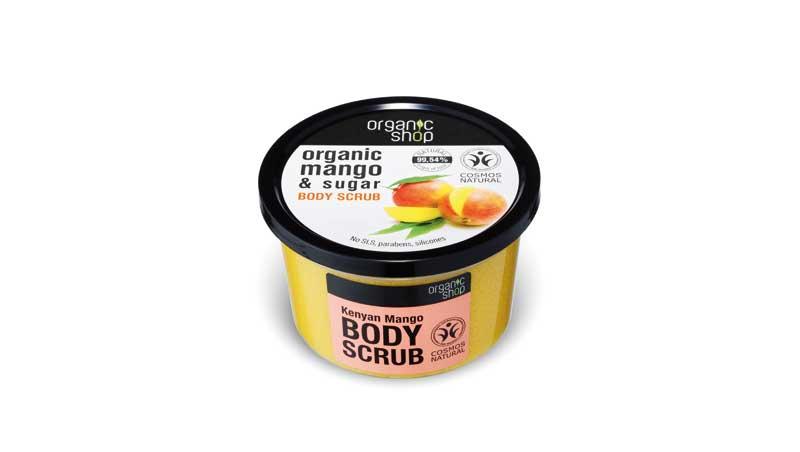 Scrub per il corpo al mango, Organic Shop