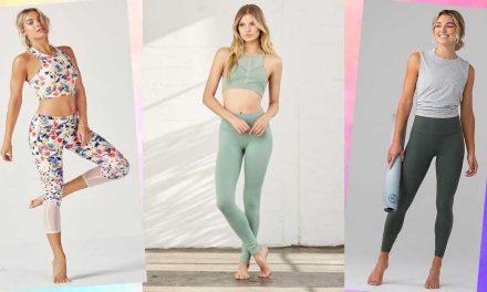 Yoga outfit: 8 idee per vestirsi comode e con stile per una lezione yoga