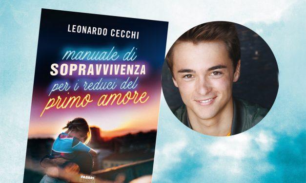 Manuale di sopravvivenza per i reduci del primo amore, il nuovo libro di Leonardo Cecchi