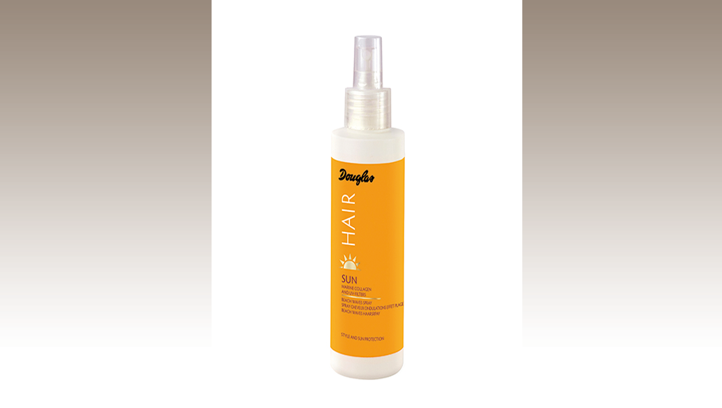 Spray beach waves: si spruzza su capelli umidi o asciutti e si modella con le dita per definire le onde. Douglas
