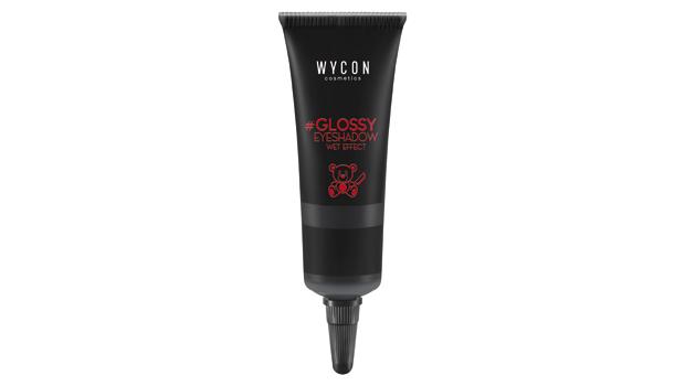 Glossy eyeshadow nero, wet effect, Puppy Motel collection, Wycon cosmetics