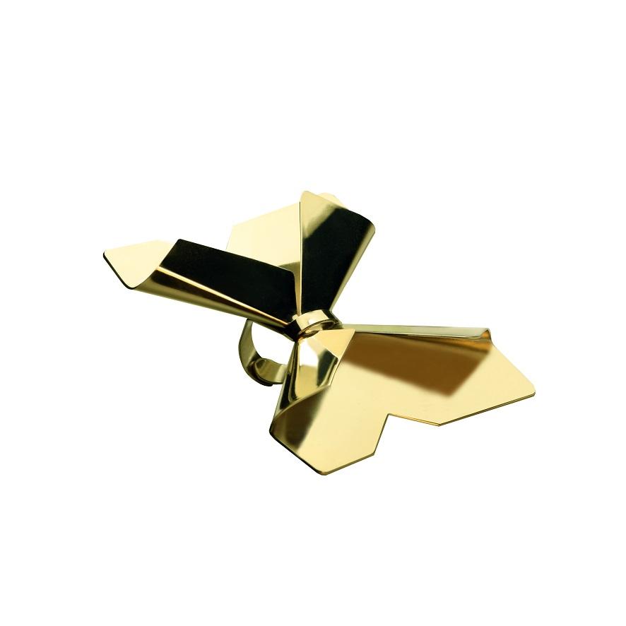 Anello farfalla dorato, Gerlando Dispenza