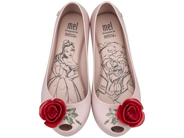 4.Ballerine in pvc ispirate alla bella addormentata, Melissa x Disney