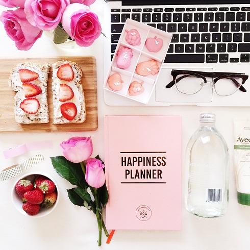 6.Agenda motivazionale, The Happines Planner