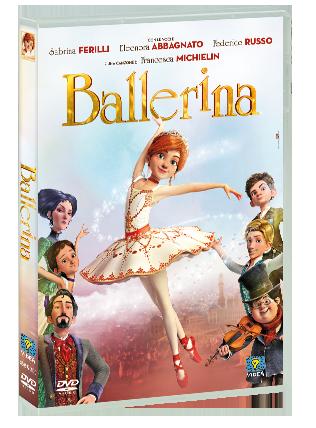 9 9.Dvd del cartone animato Ballerina