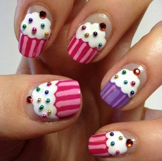 #6 candy nails