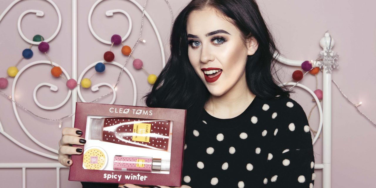 Cleo Toms: arriva Spicy Winter, la linea beauty firmata dalla giovane youtuber