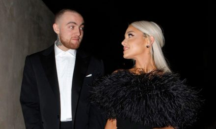 Ariana Grande: bionda e innamorata del suo Mac Miller