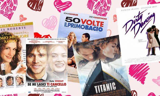5 film romantici da vedere (e rivedere) a San Valentino