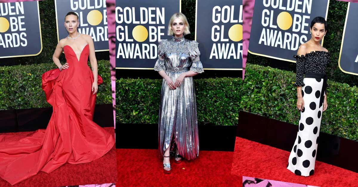 GOLDEN GLOBES 2020: 5 fashion trend da tenere d'occhio
