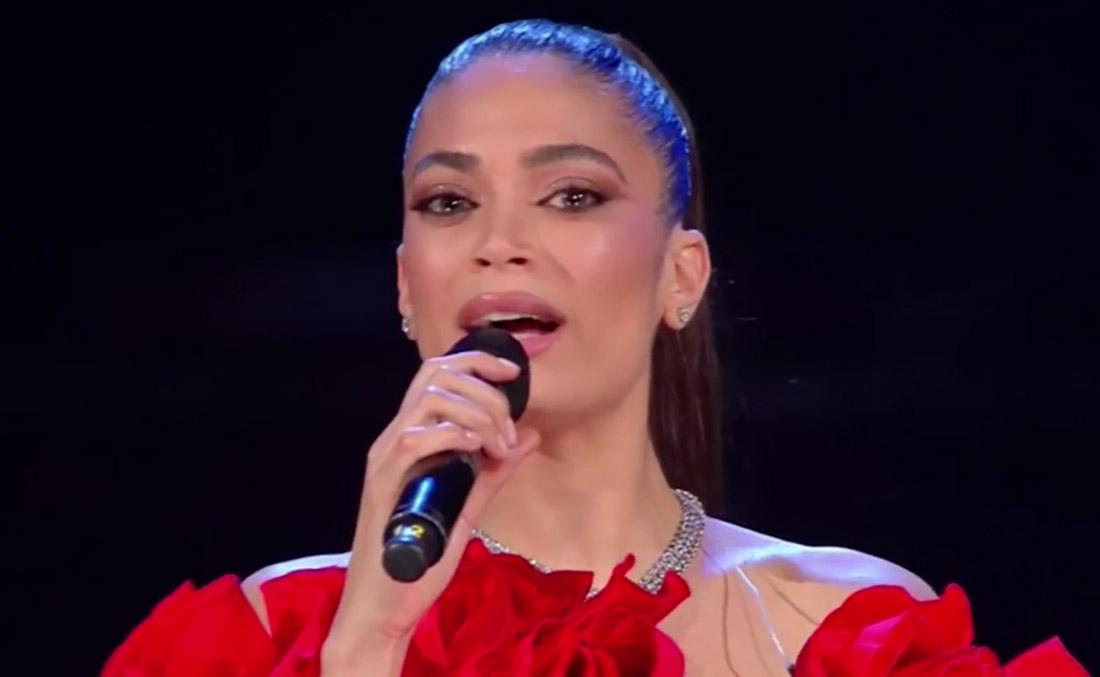 Elodie stella della seconda serata del Festival di Sanremo. Ermal Meta primo
